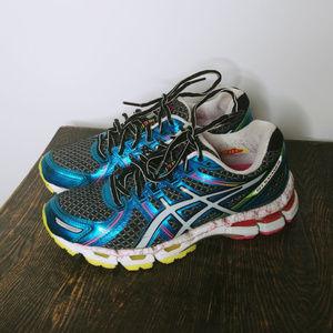 ASICS Gel Kayano Teal Running Sneaker